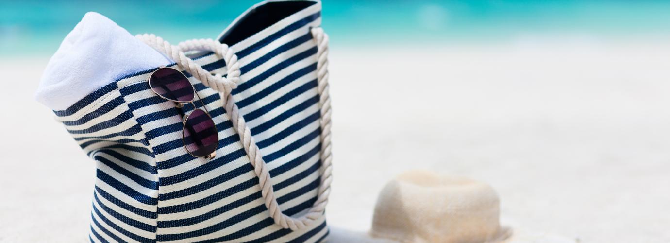 La check-list du sac de plage idéal