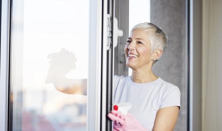 Hoe kun je ramen wassen zonder strepen?
