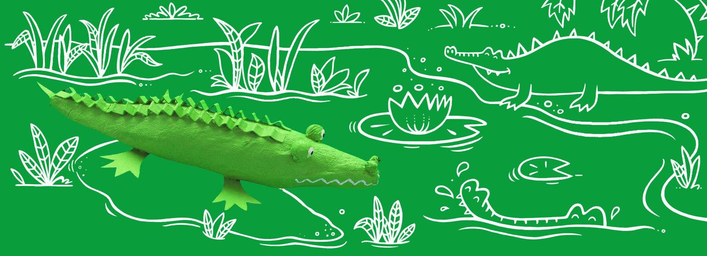 Hoe maak je papier maché dieren?