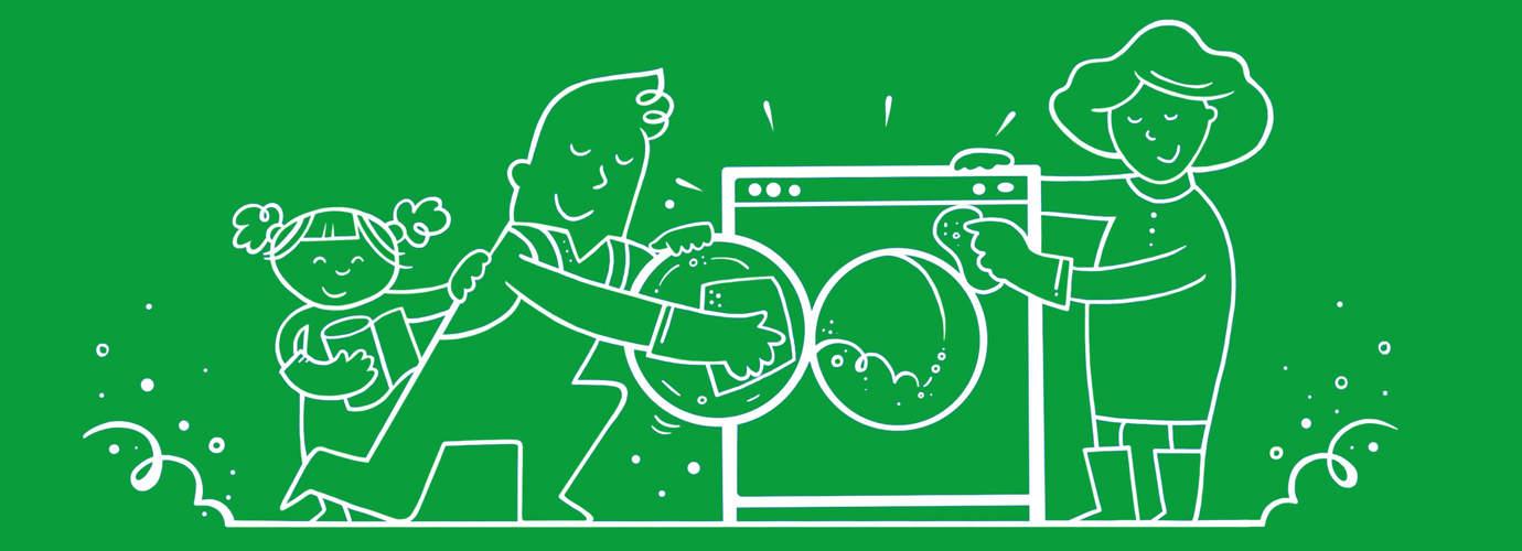 Wasmachine schoonmaken in 5 stappen