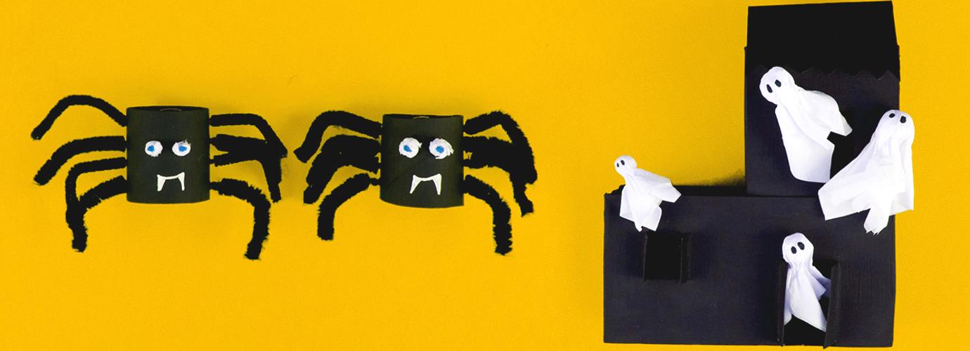 2 idées de bricolage pour Halloween monstrueusement faciles pour les enfants